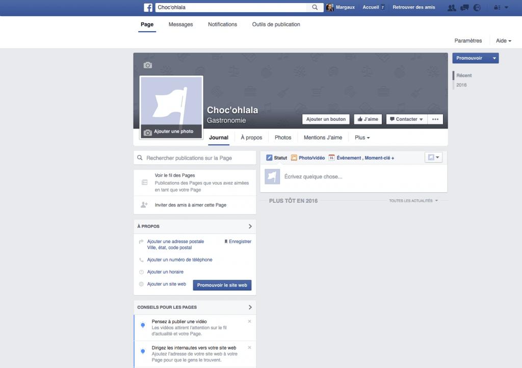 comment cr er une page facebook le guide  plet   webzako