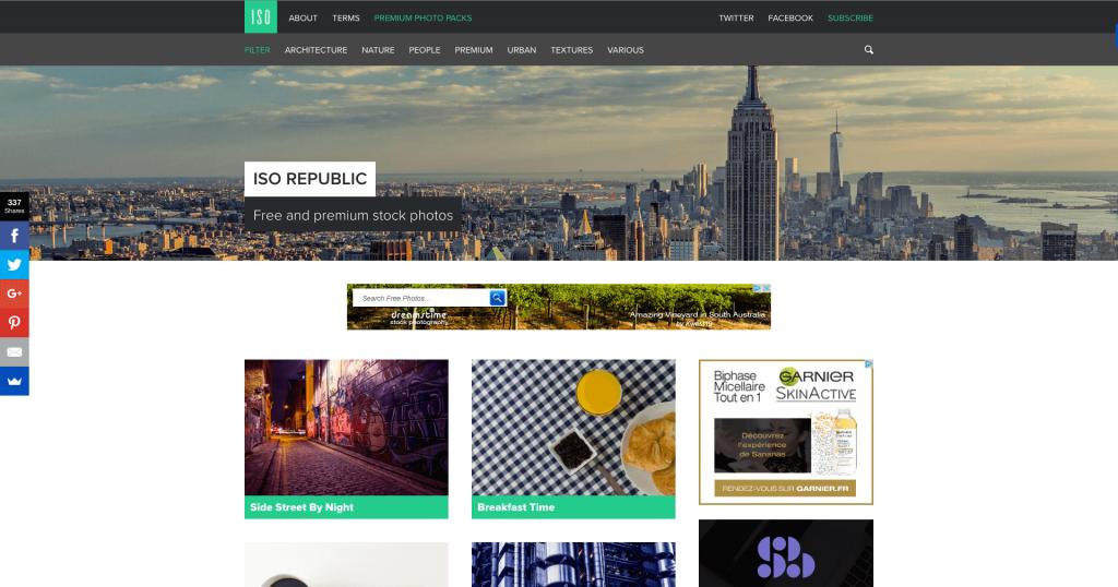 Banque d'images gratuites ISO Republic