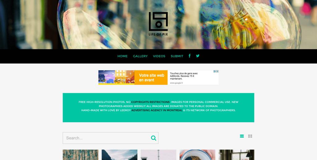 Banque d'images gratuites Life of Pix