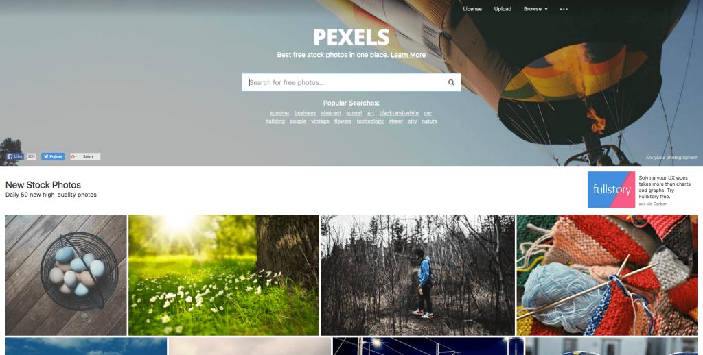 Banque d'images gratuites Pexels