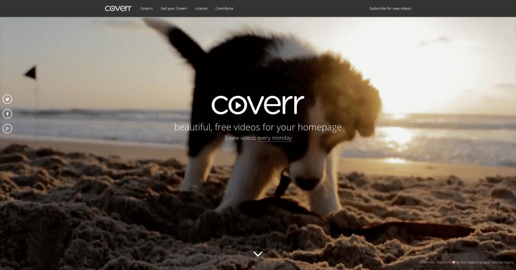 Banque de vidéos gratuites Coverr