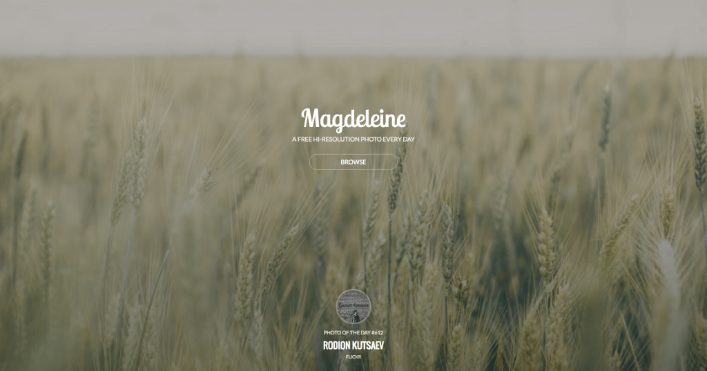 Banque d'images gratuites Magdeleine