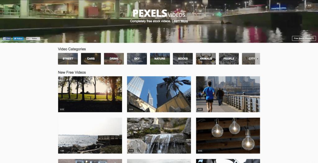 Banque de vidéos gratuites Pexels Video