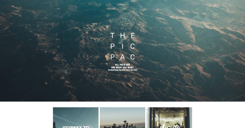 Banque d'images gratuites The Pic Pac