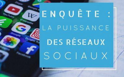 Enquête : La puissance des réseaux sociaux