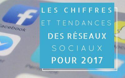 Les chiffres et tendances des réseaux sociaux pour 2017
