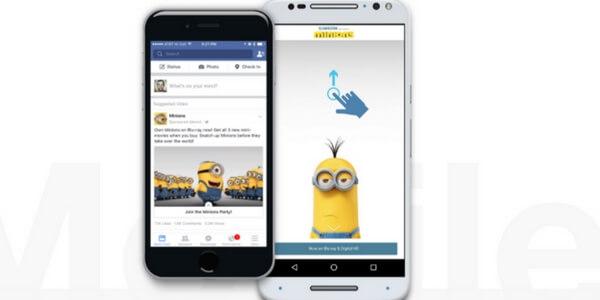 Facebook Canva, le nouveau format immersif de publicité Facebook