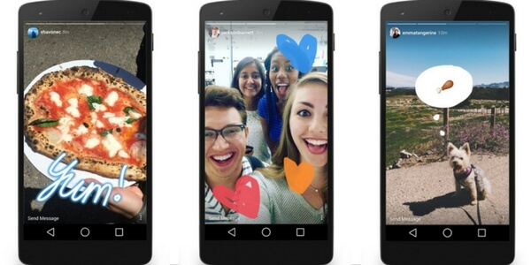 Instagram Stories copient Snapchat Stories
