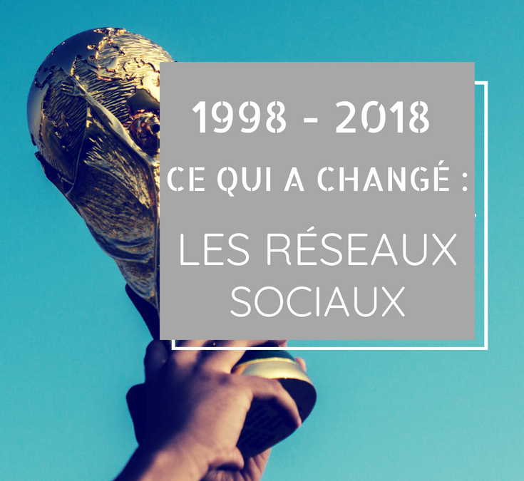 1998 – 2018, ce qui a changé : les réseaux sociaux
