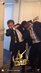 Dab Macron Pogba