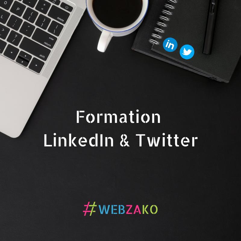 Formation LinkedIn et Twitter à distance ou en présentiel