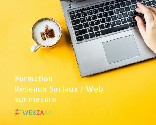 Formation Réseaux Sociaux Outils Web sur mesure