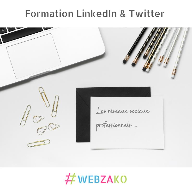 Formation CPF LinkedIn et Twitter